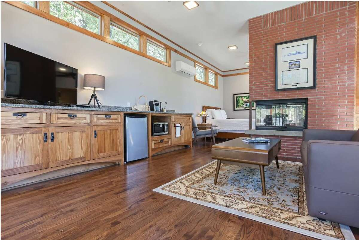 This hidden gem boasts a large kitchen, open-floor plan and stunning architecture.