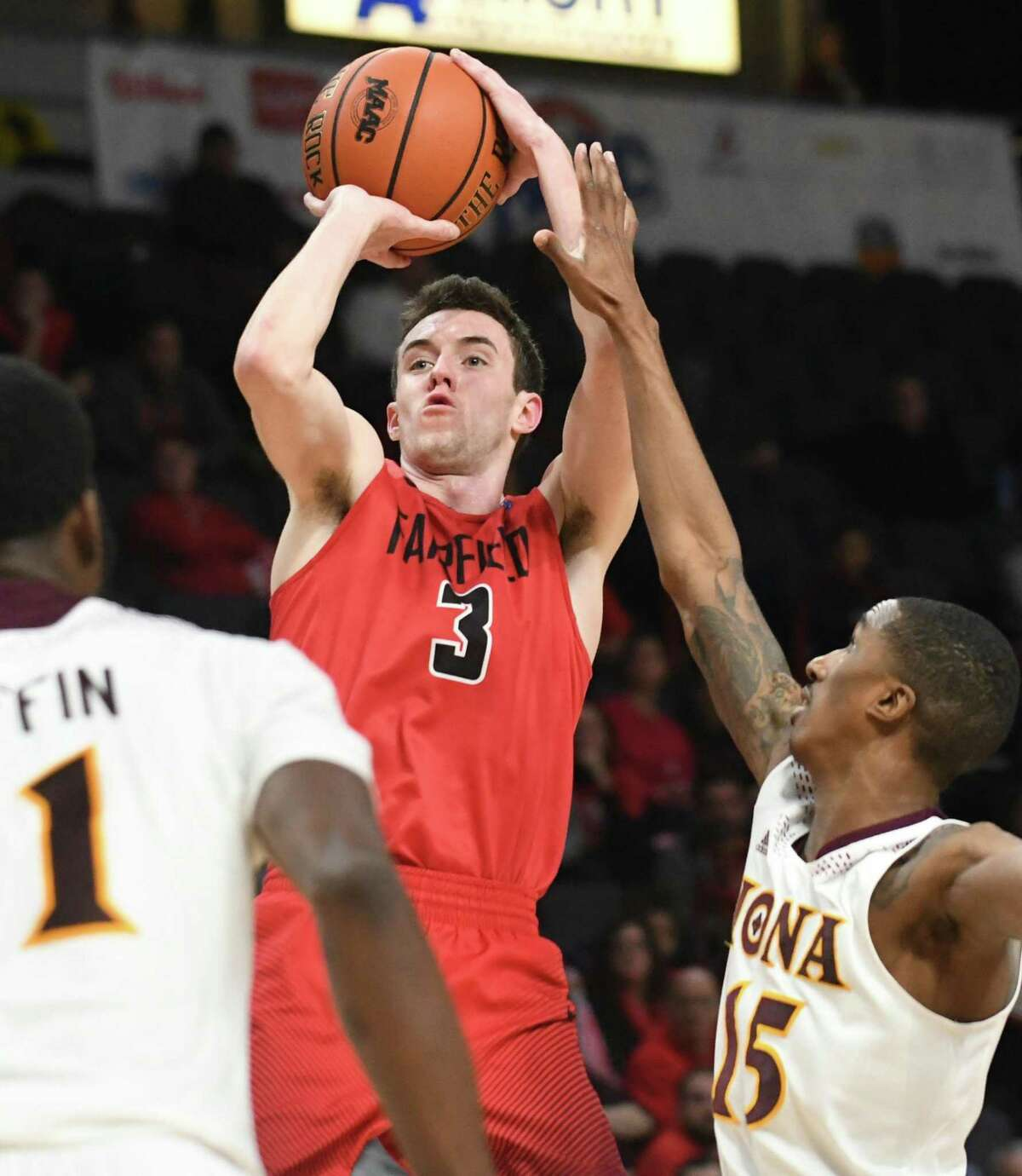 Tyler Nelson, the leading scorer in Fairfield University men's basketball history, was named to the MAAC's 40th anniversary team.