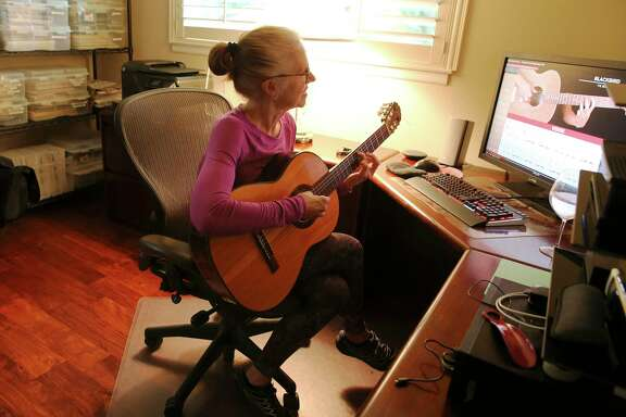 During the pandemic, some people are trying a little self improvement. Toni Saunders has taken up the guitar, an instrument she hasn't played since college. On June 26, Saunders was learning a Beatles song with the help of a YouTube video. A reader has been inspired to pick up an old hobby during quarantine.