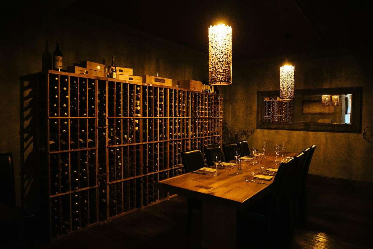 Lucia Restaurant's cellar room photographed at the Lucia Restaurant in Carmel, Calif. Wednesday, August 23, 2017.