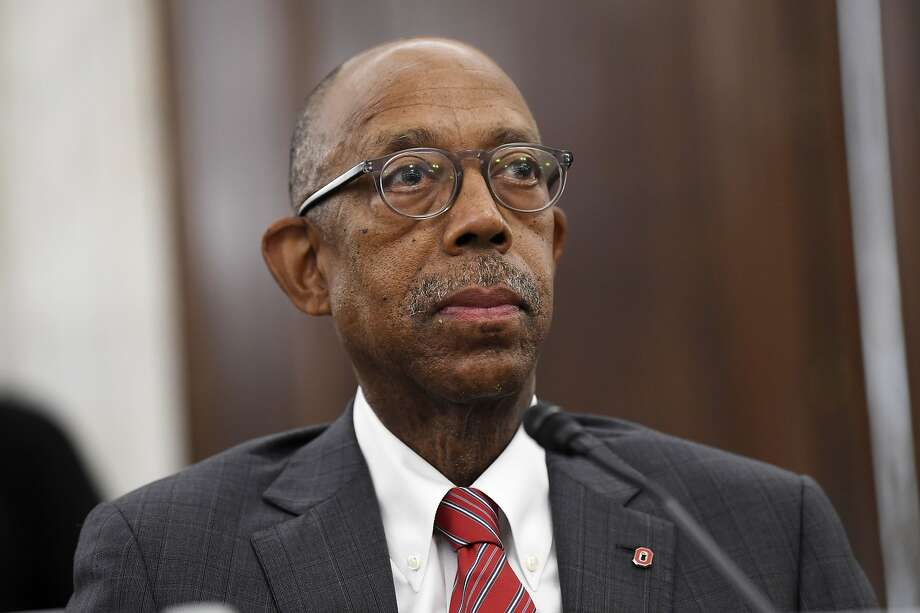 The University of California system has named Dr. Michael Drake to replace Janet Napolitano and become its first Black president. Photo: Susan Walsh / Associated Press