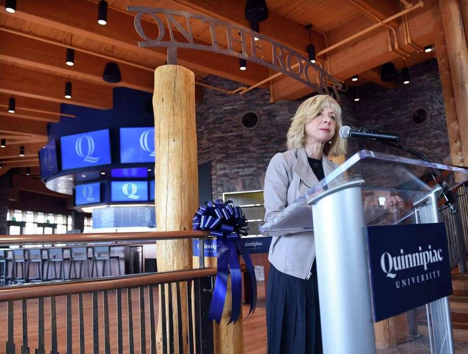 Quinnipiac University President Judy Olian Photo: Arnold Gold / Hearst Connecticut Media / New Haven Register