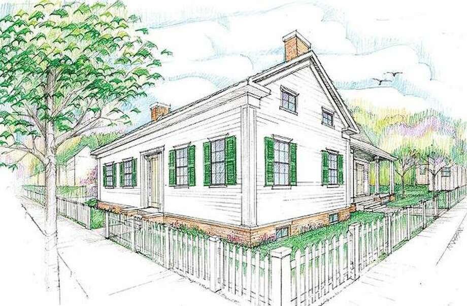 The original cottage where Abraham Lincoln and his family lived before it was expanded into what is now known as the Lincoln Home will be reconstructed and opened to visitors under an initiative by the Abraham Lincoln Association (ALA). The ALA launched a $400,000 fund drive to acquire land in the 600 block of Eighth Street between Edwards and Cook, in Springfield, and to design, construct, landscape and furnish an accurate replica there of the original one-and-a-half-story, six-room Lincoln family dwelling. Photo: For The Telegraph