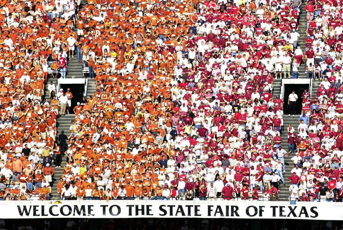 The Cotton Bowl's annual divide between burnt orange and crimson could look a lot different this year, if the annual Texas-OU game is played. The State Fair announced it was canceling its 2020 event.