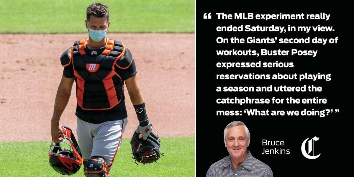 Bruce Jenkins on the return of baseball