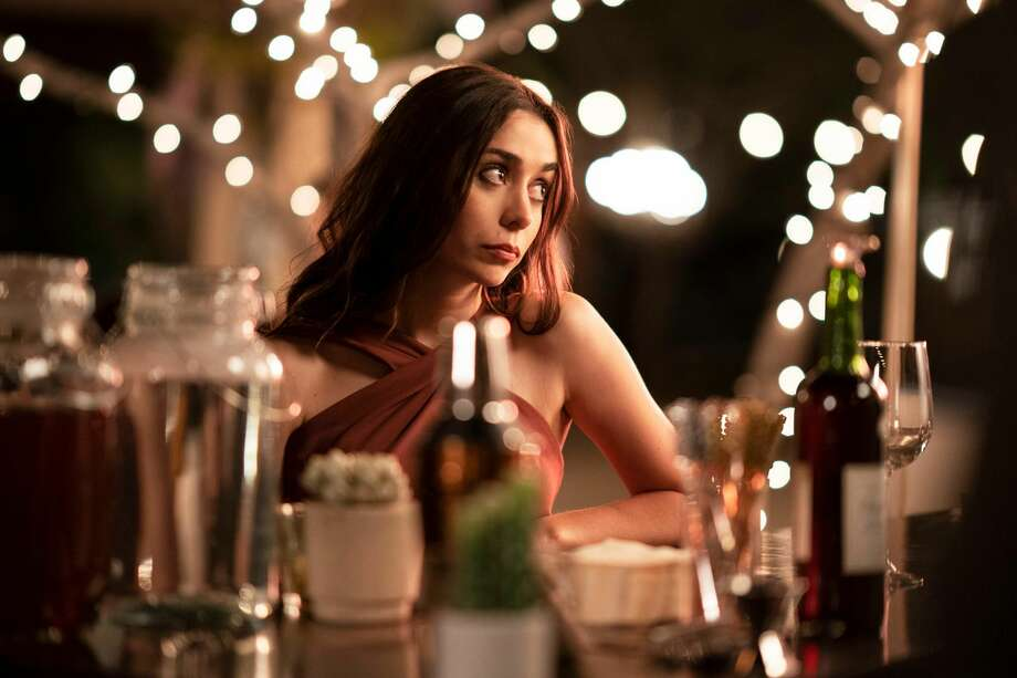 "Cristin Milioti co-stars in Hulu's new infinite time loop movie ""Palm Springs."" Photo: Courtesy Of Hulu / 2020 Hulu"