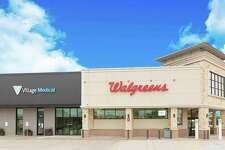 A Village Medical clinic embedded in a Walgreens in the Houston area. The companies plan to build out as many as 700 such clinics through 2025, with locations not specified immediately. (Press photo via Businesswire)
