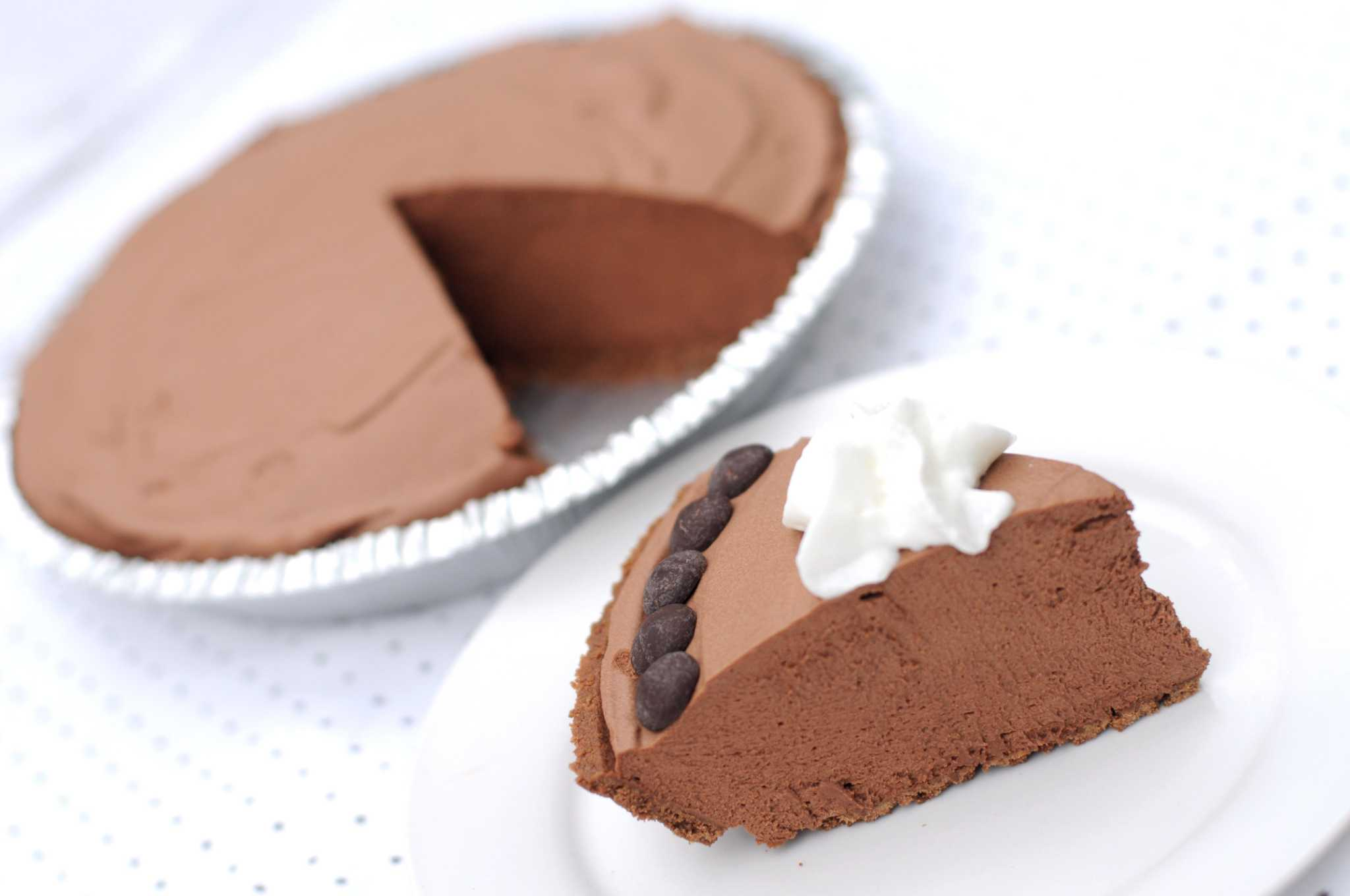 Recipe: Chocolate Coffee Icebox Pie