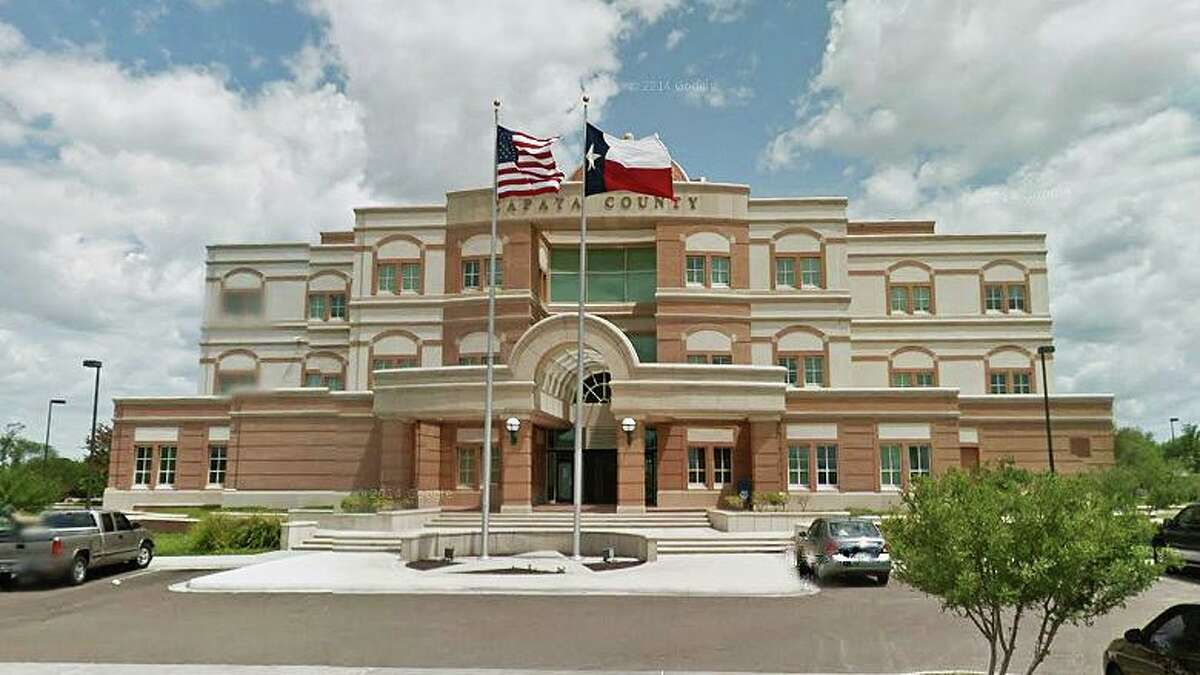 The Zapata County Courthouse is pictured. Zapata announced 15 new cases of the coronavirus over the past week, including a 1-year-old boy.