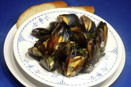 White Wine Steamed Mussels are a meal all on their own.
