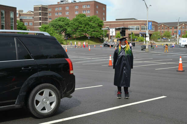 It may have been unlike any other Commencement that SUNY Schenectady has ever hosted, but there was just as much excitement and (socially distant) well wishes during SUNY Schenectady's 50th Commencement which took place on campus on Monday, June 29, 2020.