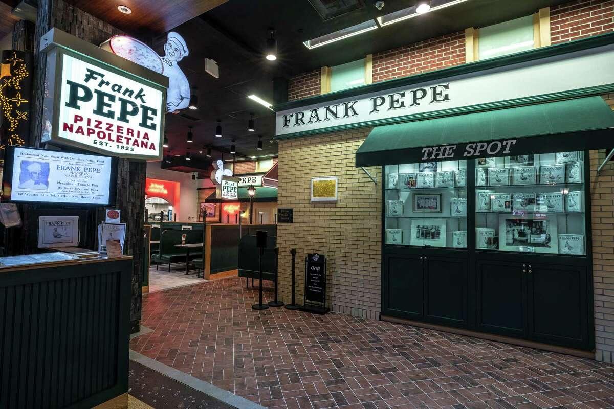 The entrance of Pepe's at Mohegan Sun.
