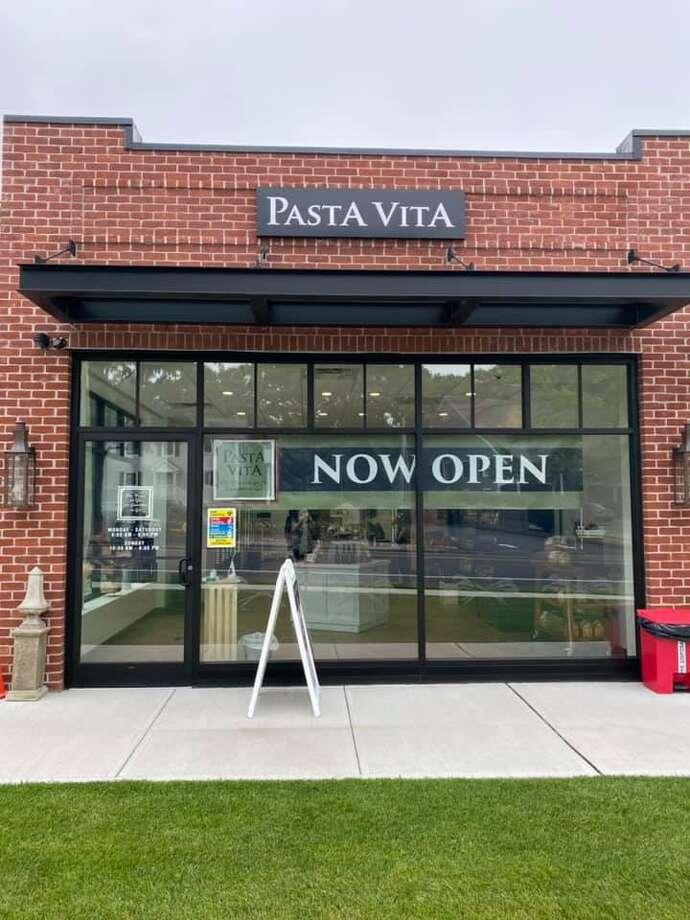 Pasta Vita in Darien opened Tuesday, July 7. Photo: Mary Jo Miller