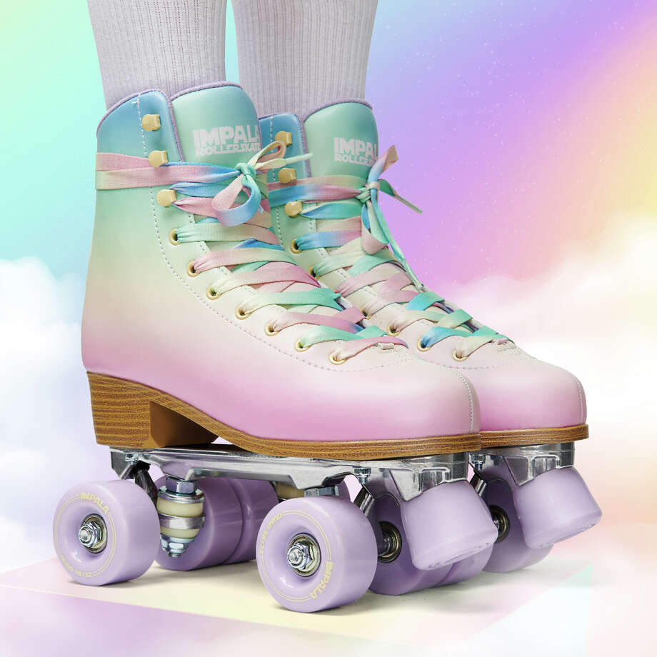 Pastel Fade Limited Edition roller skates were released in June 2020 and sold out the first day. Photo: Impala Rollerskates / Handout