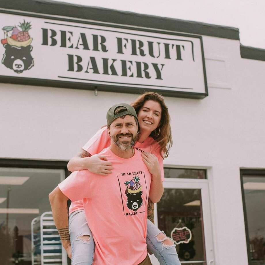 After Bear Fruit Bakery's success, Stafford said that bakery ended up giving away $30,000 to other struggling businesses in the last few weeks. After such a significant commitment, the couple has decided to stem the cash donations, but give back in other ways, through different platforms to help their neighbors. After Bear Fruit Bakery's success, Stafford said that bakery ended up giving away $30,000 to other struggling businesses in the last few weeks. After such a significant commitment, the couple has decided to stem the cash donations, but give back in other ways, through different platforms to help their neighbors. Photo: Kaitlin Stafford