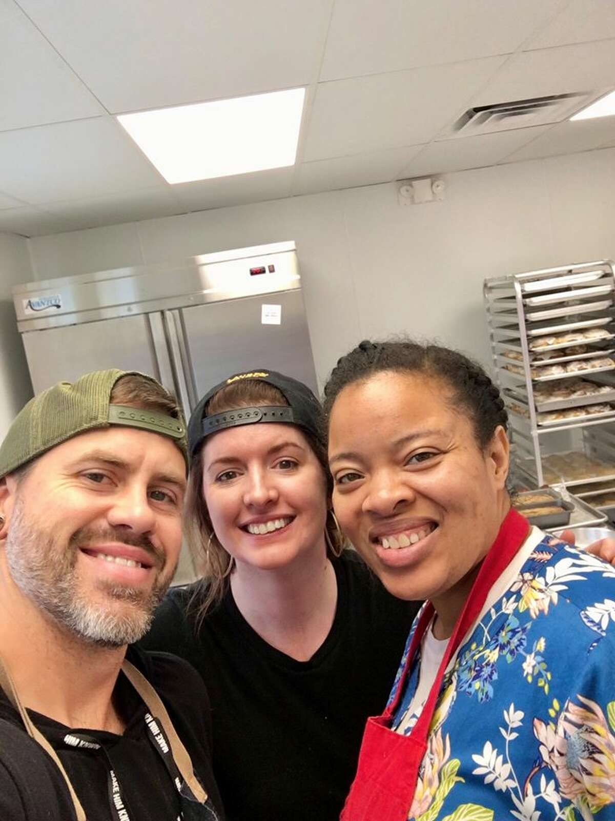 After Bear Fruit Bakery's success, Stafford said that bakery ended up giving away $30,000 to other struggling businesses in the last few weeks. After such a significant commitment, the couple has decided to stem the cash donations, but give back in other ways, through different platforms to help their neighbors.