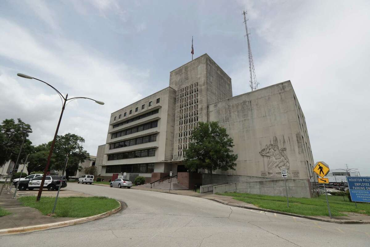Central Patrol Station, where Houston Police Department ran one of its two municipal jails Tuesday, July 7, 2020, in Houston.