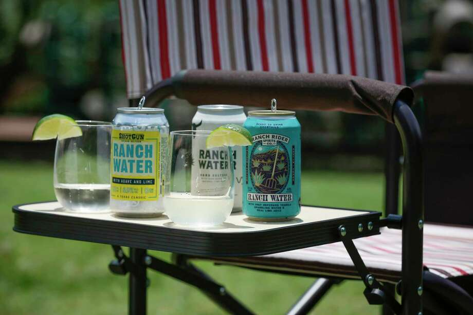 Three brands are leading the canned Ranch Water trend: Shotgun, Lone River and Ranch Rider. Photo: Steve Gonzales, Houston Chronicle / Staff Photographer / © 2020 Houston Chronicle