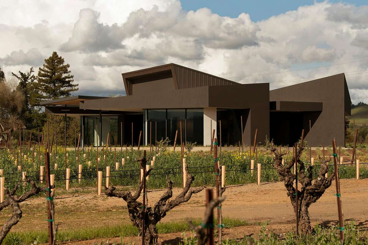 The new tasting room at Aperture Cellars in Healdsburg, California on March 16, 2020.