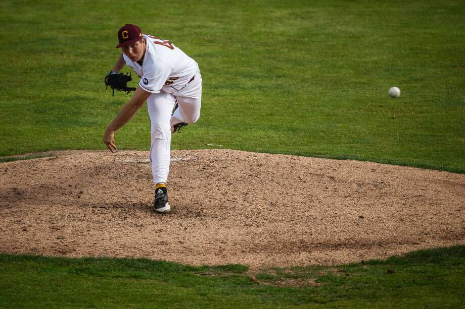 Central Michigan's Garrett Willis delivers a pitch during the 2019 season. Photo: Cmuchippewas.com