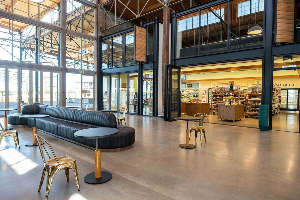 Rocky's Market's second location is open at Brooklyn Basin, a new development on Oakland's waterfront. The grocery store specializes in organic produce and includes a restaurant, the Kitchen at Rocky's Market.