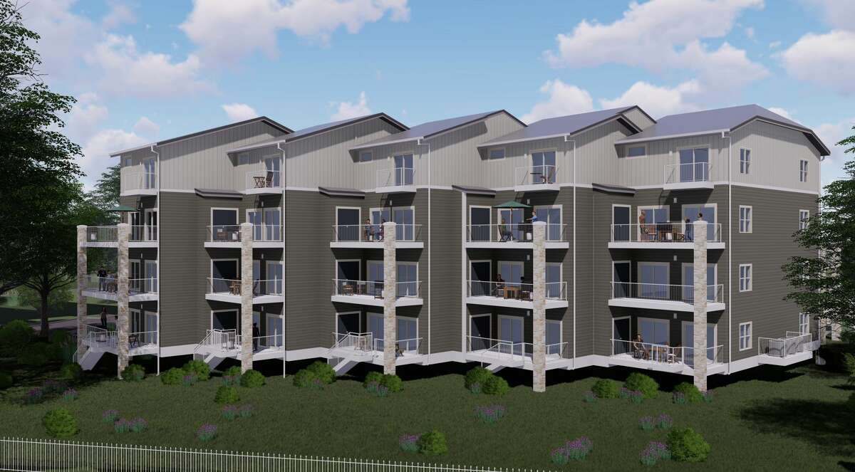 The Agave at Gruene Rapids, a 15-unit complex on a 2.3-acre riverfront lot, is located at 1228 Ervendberg Avenue in New Braunfels.