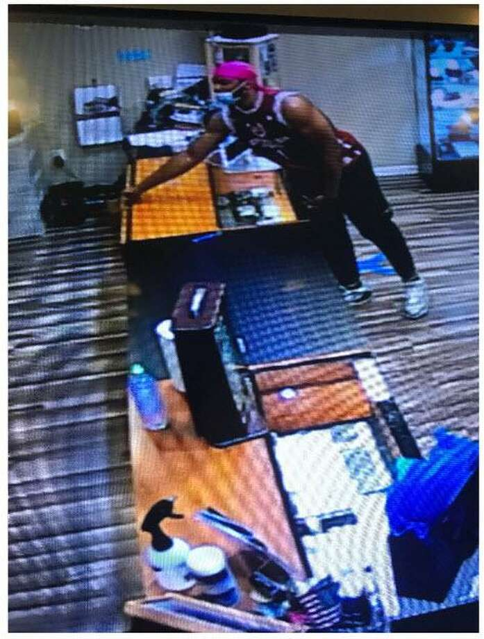 Milford, Conn., police are looking to identify the pictured individual who they say was linked to a recent larceny from the Connecticut Post Mall. Photo: Contributed Photo / Milford Police Department