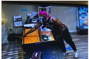 Milford, Conn., police are looking to identify the pictured individual who they say was linked to a recent larceny from the Connecticut Post Mall.