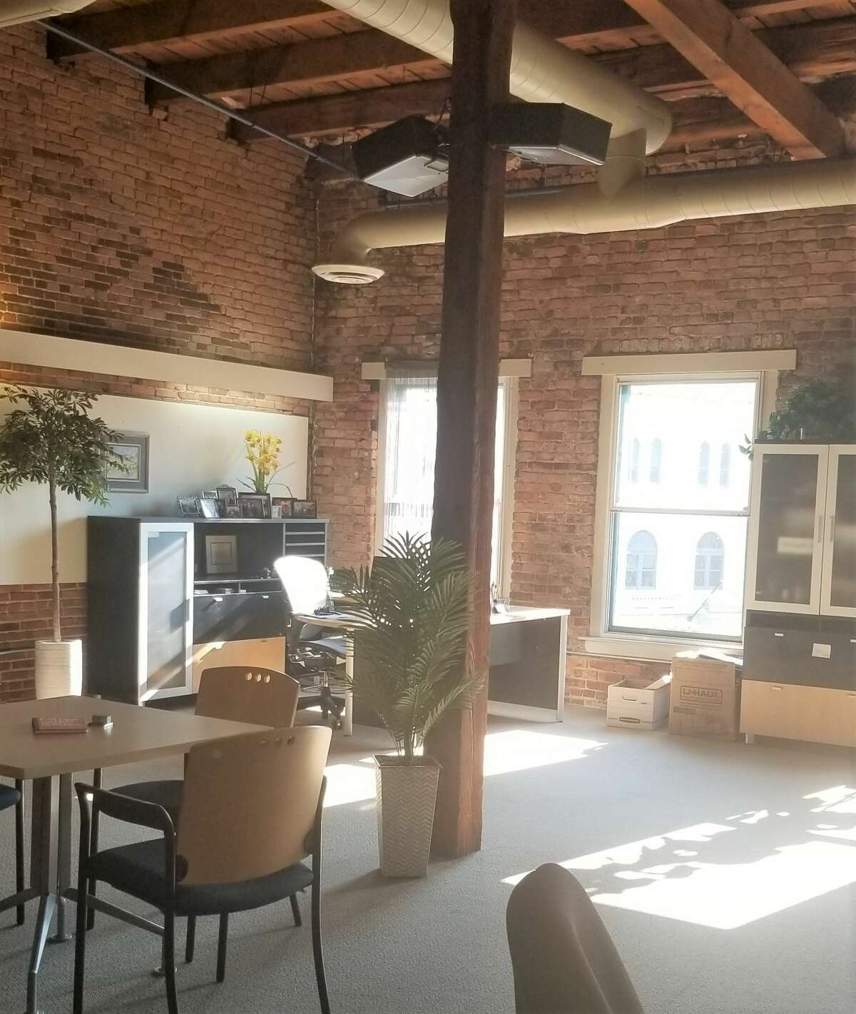 Office space on the fourth floor of 418 Broadway, Albany, where Pinnacle HR moved in July, 2020.