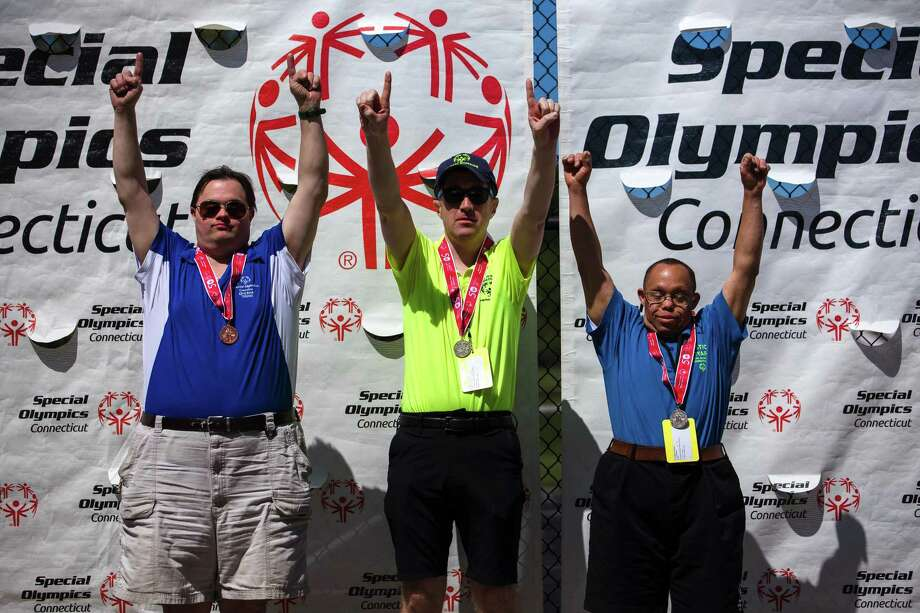 All are invited to register for A Celebration of Inclusion — a virtual event and online auction to benefit Special Olympics Connecticut, presented by Tokio Marine HCC. Photo: Special Olympics Connecticut / copyright 2019 Rich In Memories, LLC