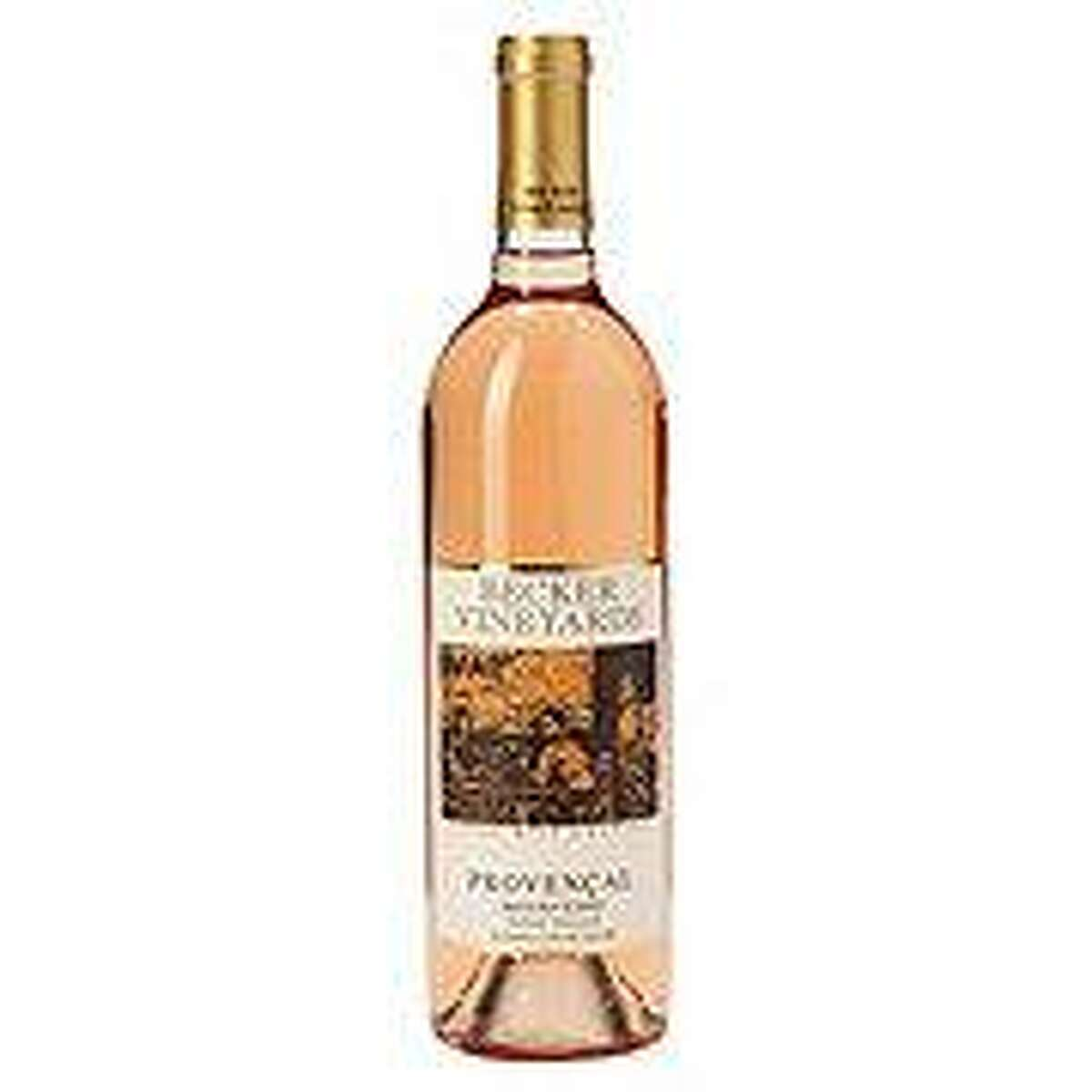 Becker Vineyards Provencal Mouvedere:This Rose' has deep floral notes of violet, peach and raspberry with candied watermelon.