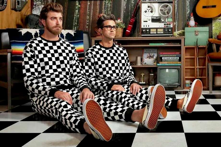 YouTube comedians Rhett and Link are the latest guests on the I'm So Obsessed podcast. Photo: Rhett And Link