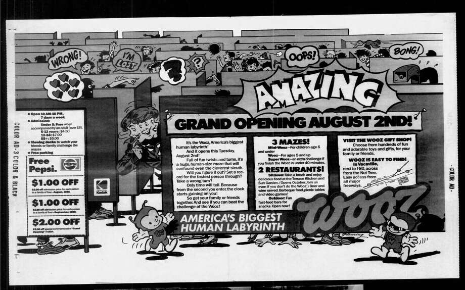 A 1988 advertisement for the Wooz that ran in the San Francisco Examiner. Photo: SF Examiner
