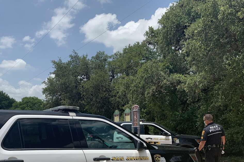"""Two women found a man dead and """"tangled"""" in a bike while walking Wednesday on the Salado Creek Greenway, according to SAPD spokesperson Doug Greene."""