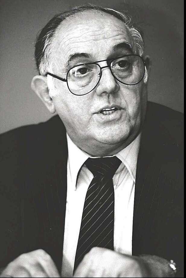Former Stamford mayor Bruno Giordano in 1994. Photo: File Photo
