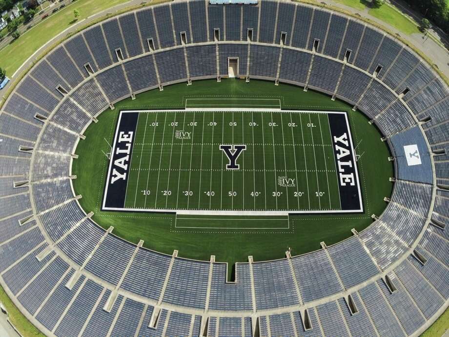 Yale Bowl, which opened in 1914, will not host any games until at least Jan. 1 after the Ivy League's decision on Wednesday. Photo: Yale Athletics /