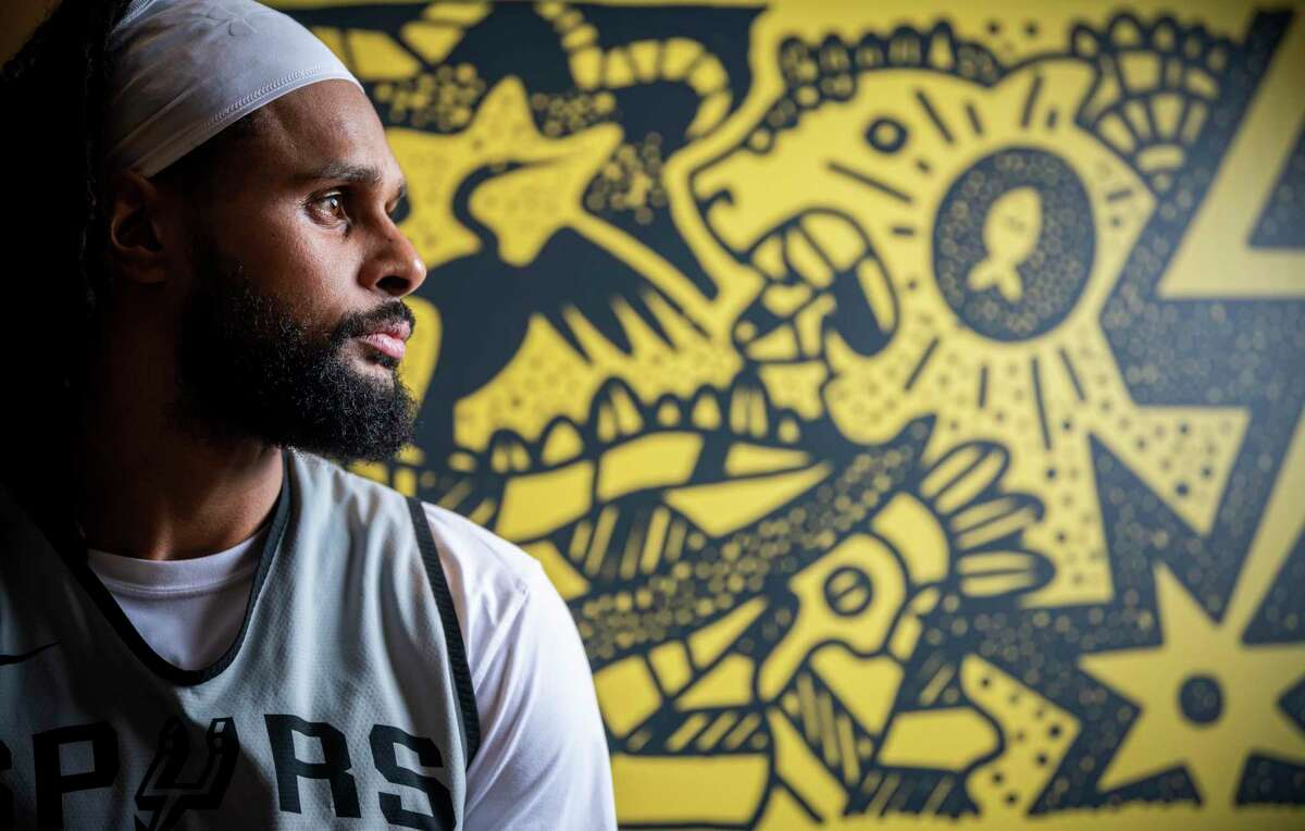 Patty Mills, whom Gregg Popovich lauded as the Spurs'