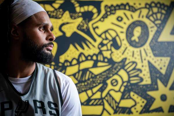 Spurs point guard Patty Mills has created a merchandise line celebrating the American Indians in Texas. The merchandise debuts in January.