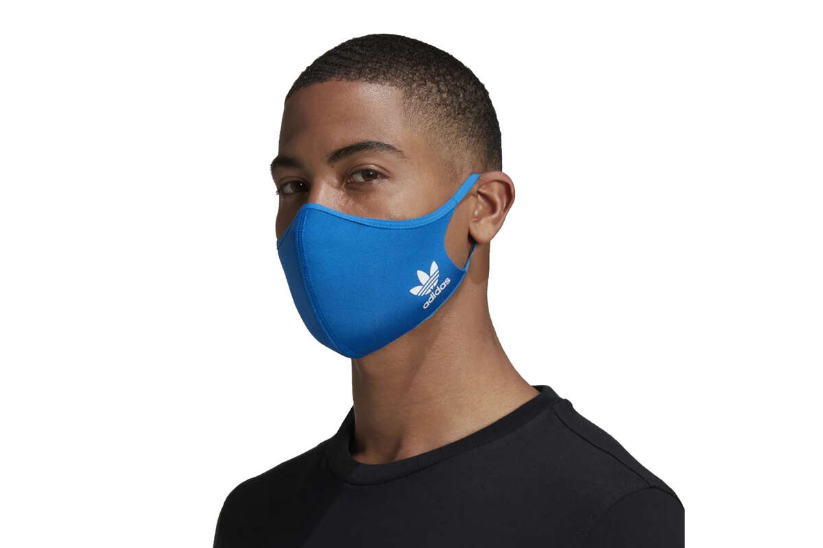 Adidas Face Cover These simple, straightforward, lightweight masks come in two colors (black and blue) and two styles (lifestyle and sport). They're also the most popular mask we've ever written about by a significant margin. $16 for three masks at adidas.com