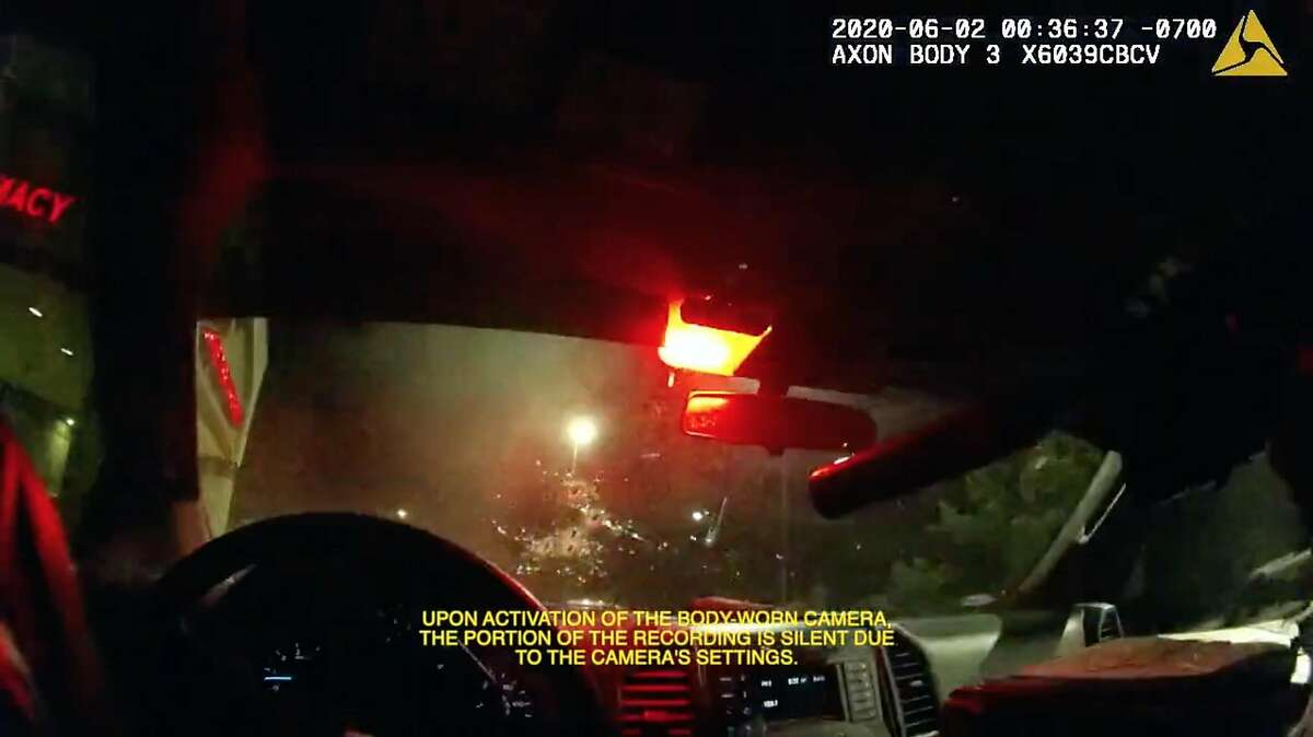 Body camera footage shows the officer involved shooting that resulted in the death of Sean Monterrosa on Tuesday, June 2, 2020 in Vallejo, Calif.