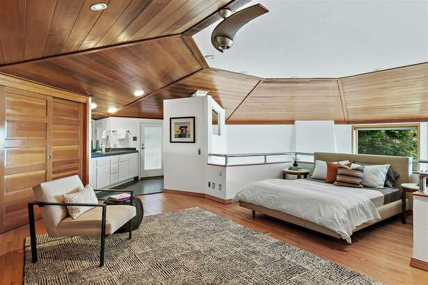 This octagon-shaped home in Berkeley is for sale.