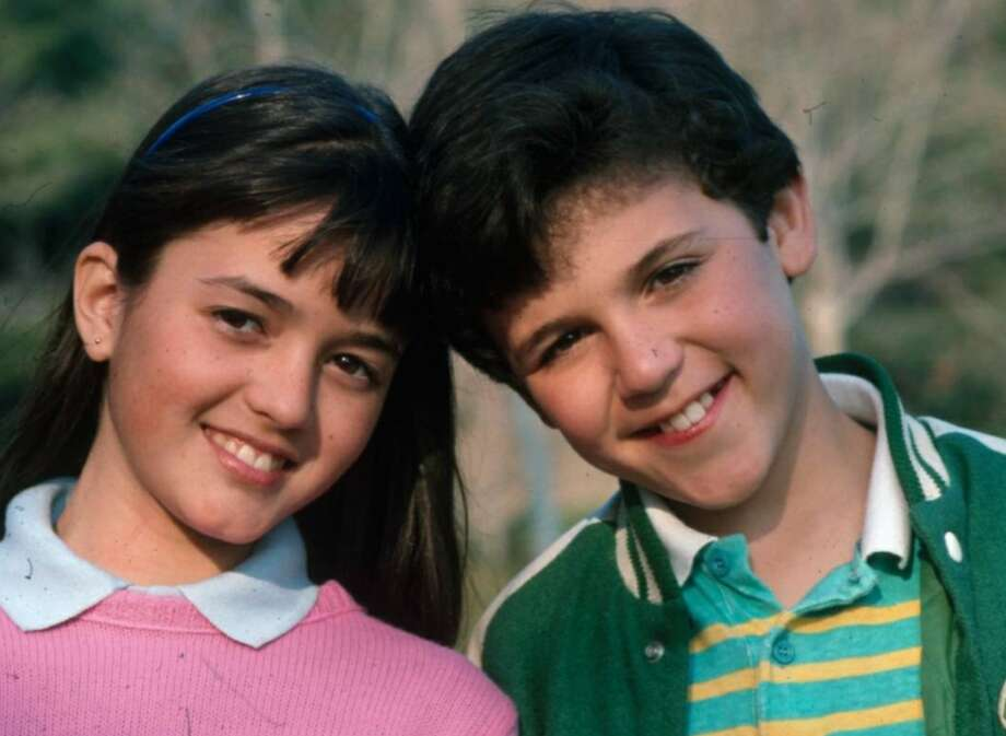 Danica McKellar and Fred Savage starred in the original version of The Wonder Years. McKellar said on Twitter she was excited for the new show. Photo: Twitter