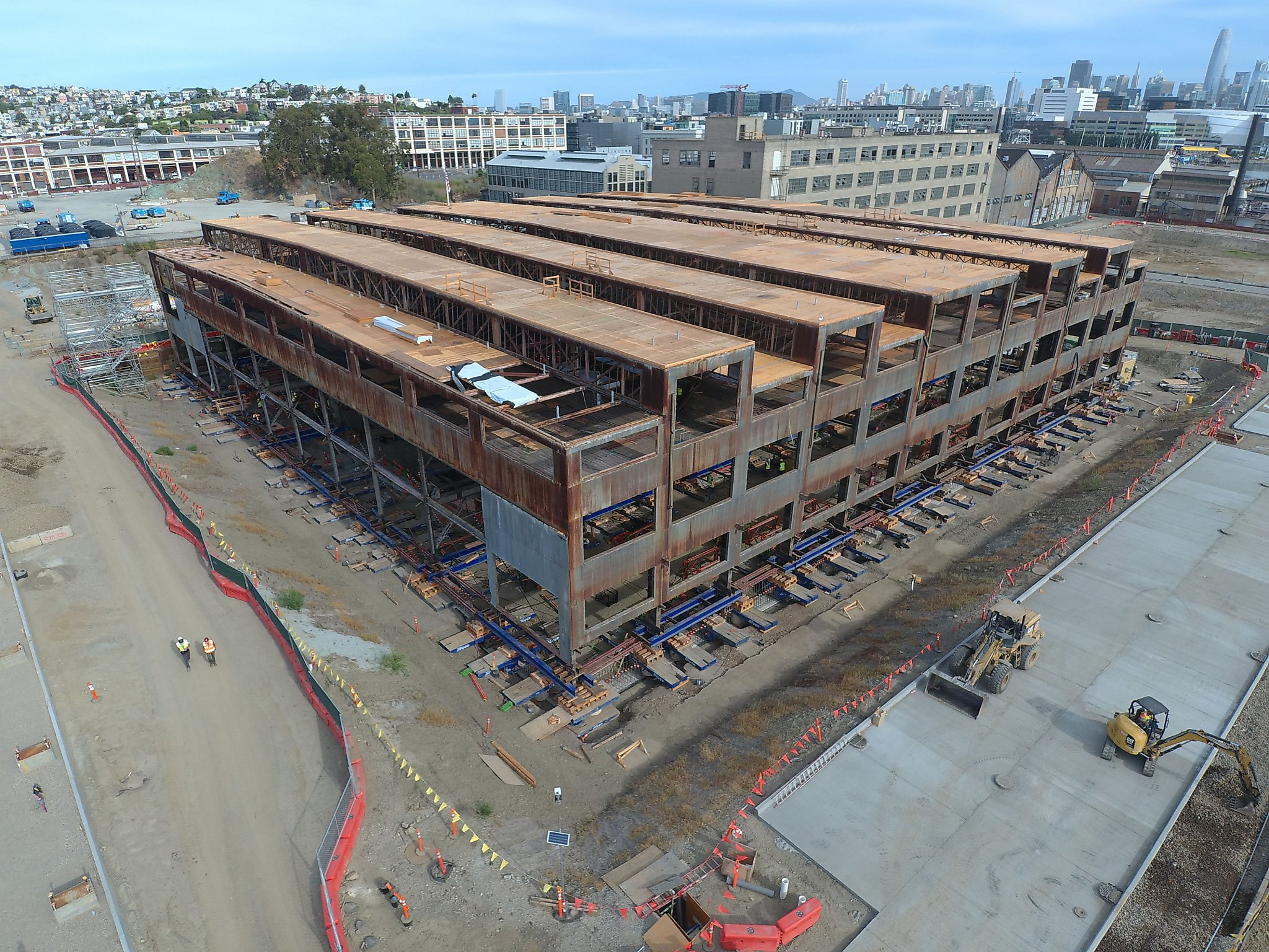 Sea-level rise means a 2,250-ton building lift at SF's Pier 70