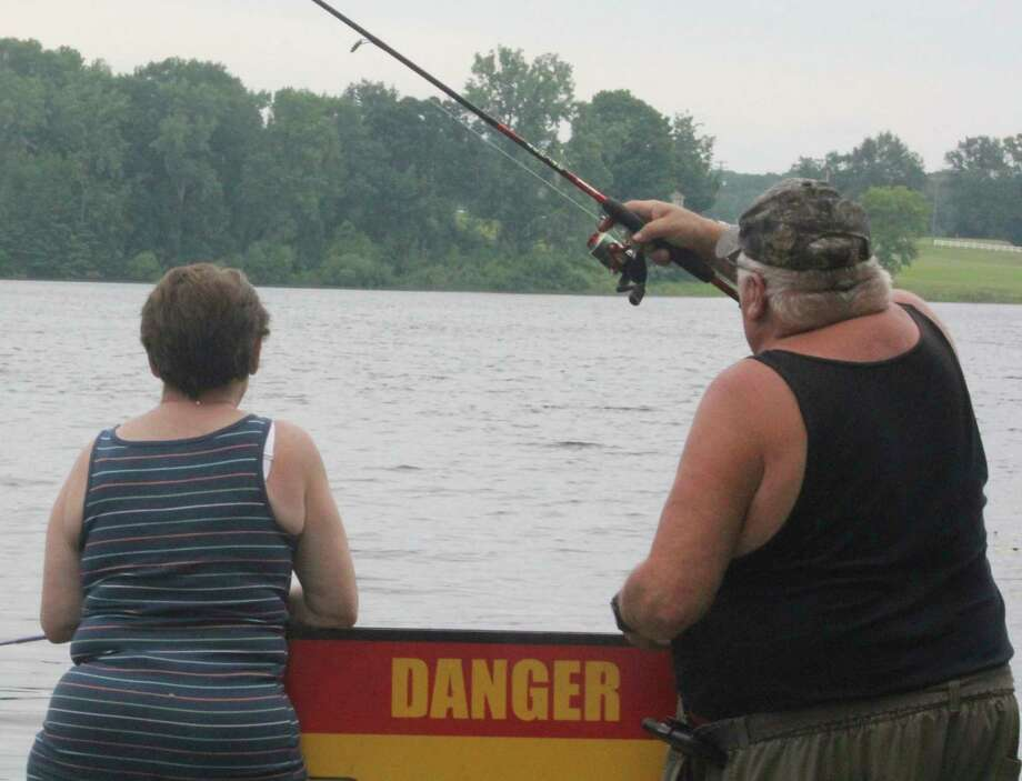 Anglers have had to contend with hot weather in recent days. (Star file photo)