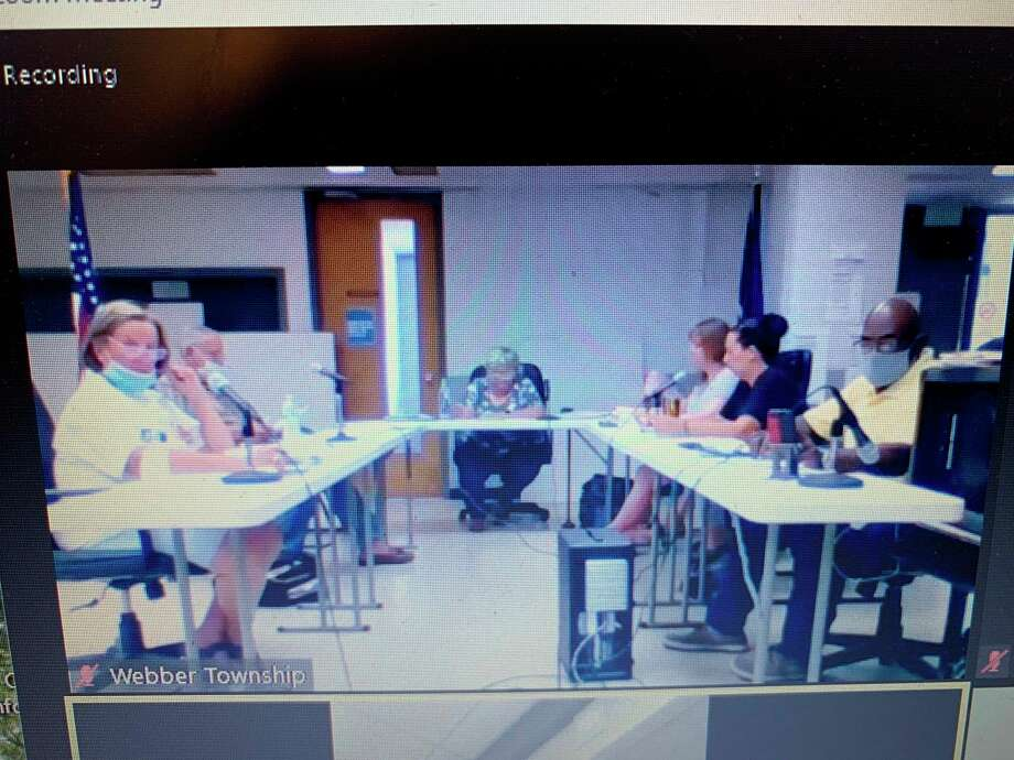 The Webber Township planning commission met remotely to iron out the final details of the recreational marijuana ordinance July 6. The ordinance will now go to the Township Board of Trustees for approval. (Star photo/Cathie Crew)