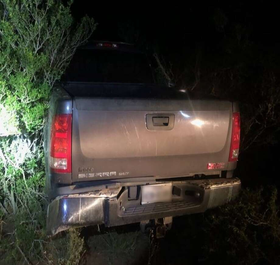 U.S. Border Patrol agents said they recovered this vehicle that was reported stolen. The vehicle was loaded with multiple immigrants who had crossed the border illegally. Photo: Courtesy
