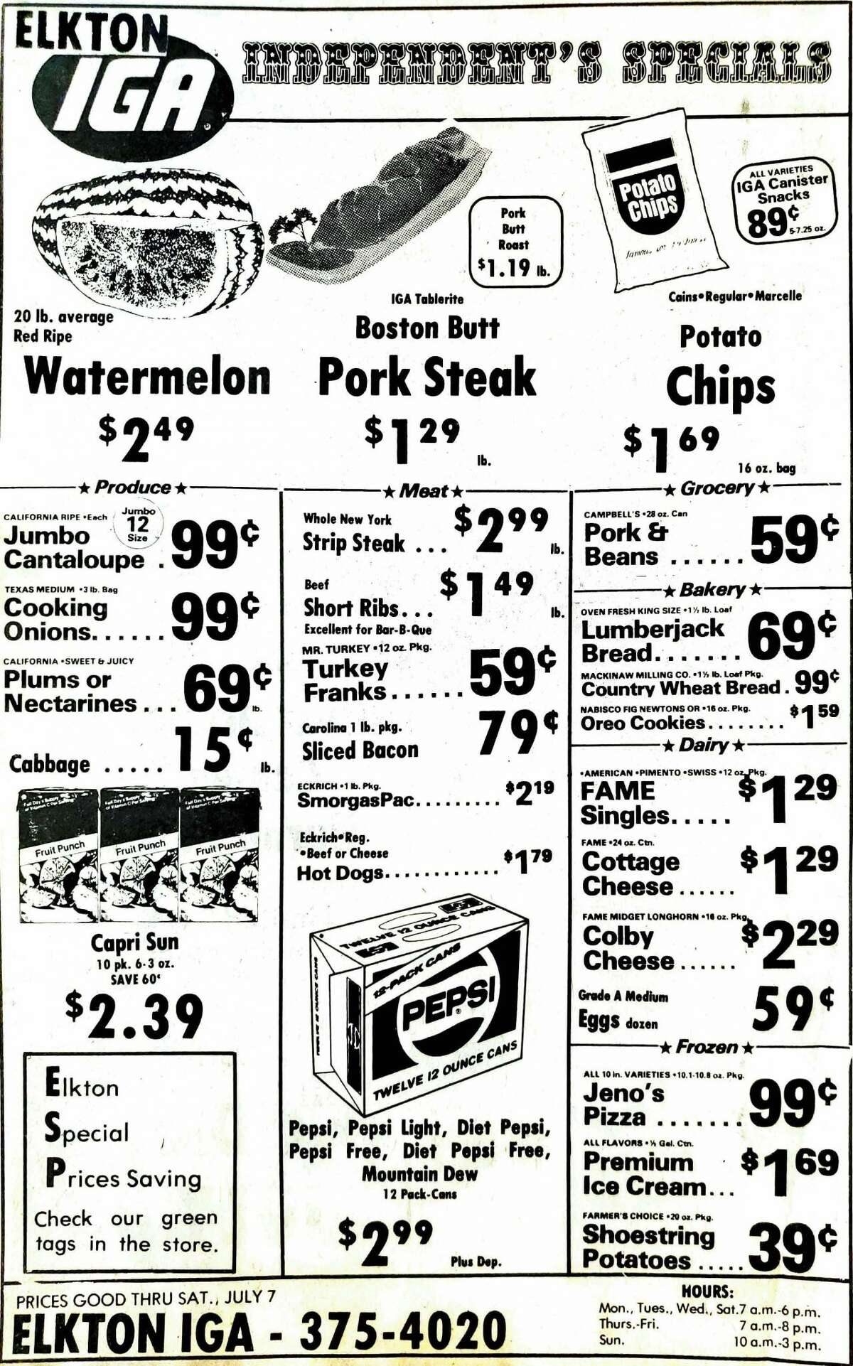 For this week's Tribune Throwback we take a look in the archives from July 1984.