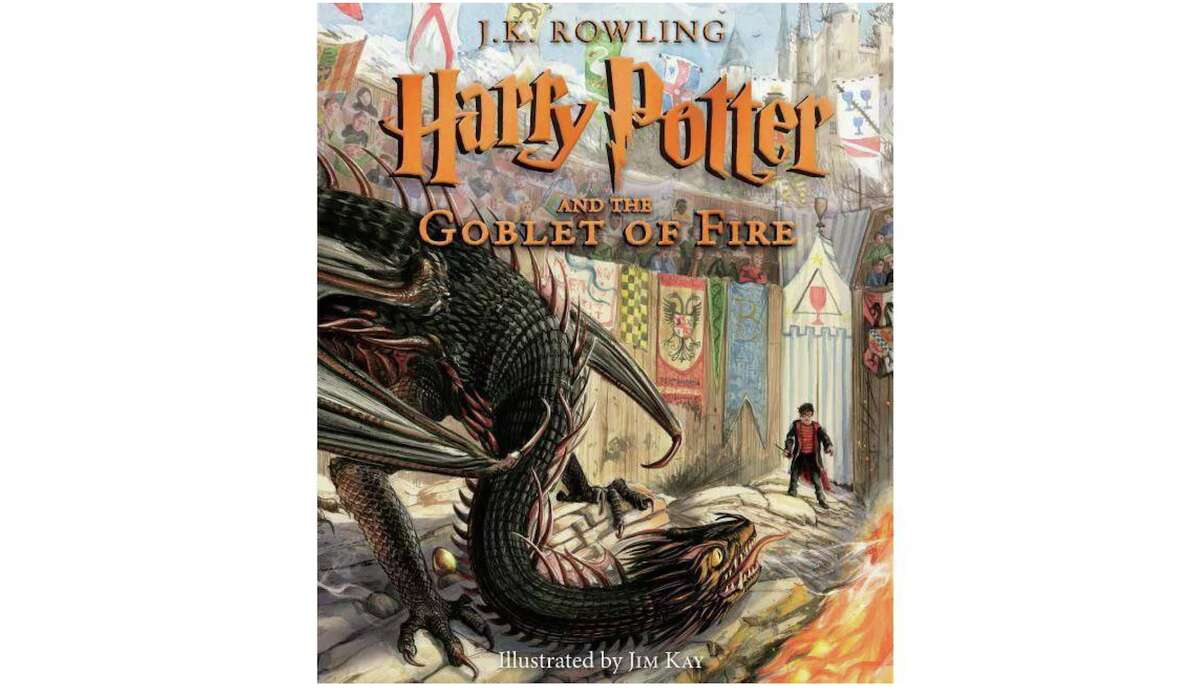 Harry Potter and the Goblet of Fire: The Illustrated Edition, $17.74 on Amazon