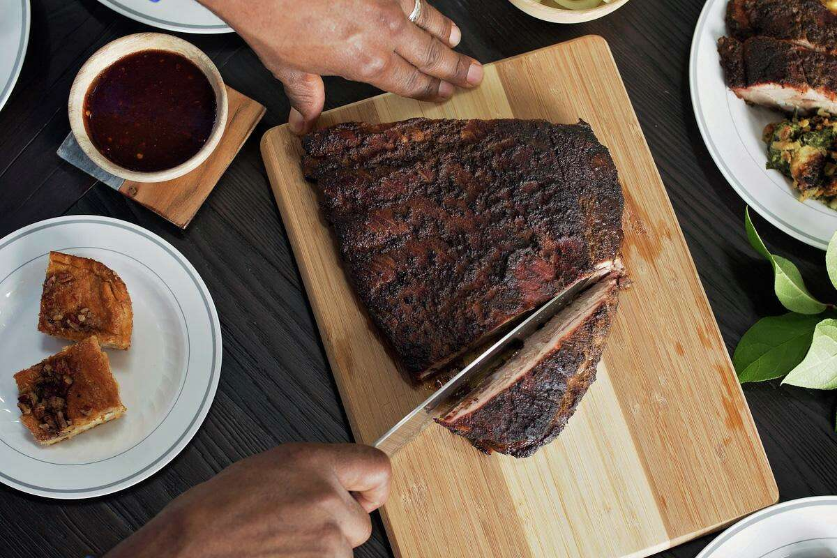 Fainmous BBQ, specializing in Tennessee-style barbecue from James and Karen Fain, is now open at 1201 Oliver St. in Sawyer Yards.