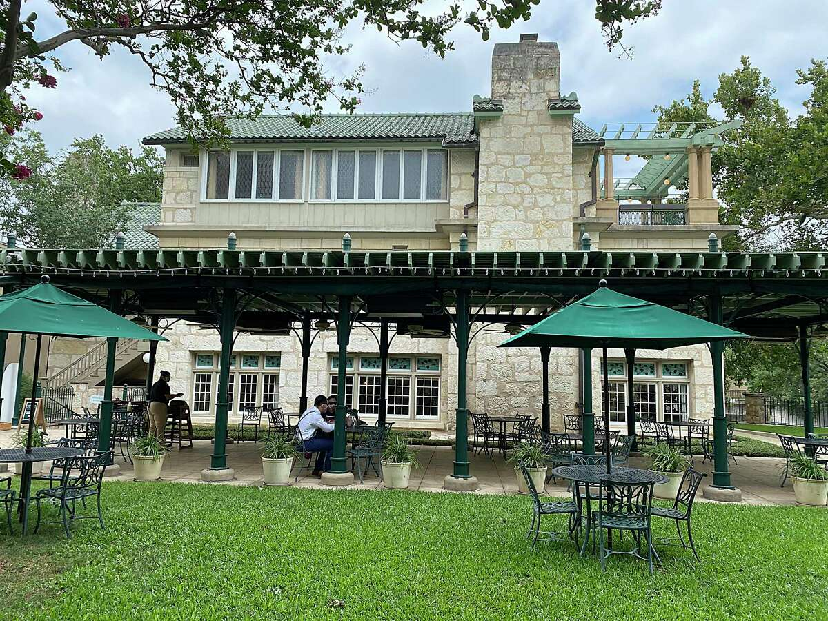 The Guenther House restaurant, museum and store stands on the grounds of Pioneer Flour Mills.